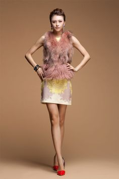 fur waistcoat