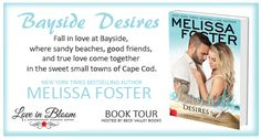 #ARCBookReview #Giveaway Bayside Desires by @Melissa_Foster- http://go.shr.lc/2q7UwYy   #SummerRomance #BeachRead #NewRelease #Flirty #Funny #BaysideSummers #BaysideDesires #LoveinBloom #Recommended #NewSeries #BookReviewer #BookBlogger
