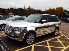 Nice...metallic silver Land Rover Range Rover www.landroversanjuantx.com