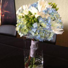 Modern bridesmaids bouquet