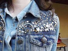Resultado de imagem para jaquetas bordadas