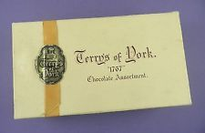 "Terry's Of York ""1767"" Vintage Chocolate Box with Ribbon Seal"