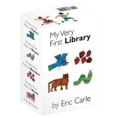 Eric Carle baby board books. Awesome shower gift.