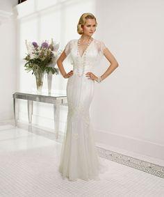 7 flattering wedding dresses to suit older brides