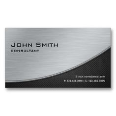 16 best metal business cards images on pinterest metal business metal business cards reheart Images