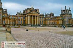 Blenheim Palace Winston Churchill's birthplace www.europescalling.com