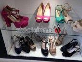 lotto 50 paia scarpe donna vari brand