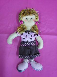 Boneca de feltro. Lily.