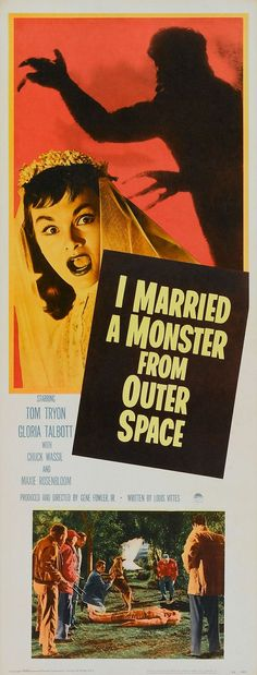 Best Film Posters : I Married a Monster from Outer Space (1958)