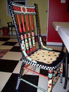 Para inspirar: cadeiras criativas - Casa de Amados