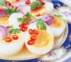 Mix boiled egg. - Thai food Recipes Thai Cuisine thai restaurant free thaifood photos