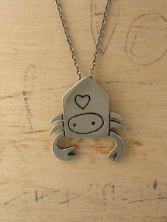 Hermit Crab Necklace