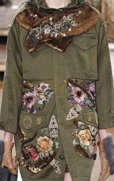 200+ mejores imágenes de cazadora | ropa, chaquetas bordadas