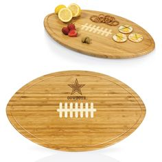 Dallas Cowboys Cutting Board / Serving Tray- Kickoff by Picnic Time