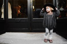 Sweet tonal shot from this runner up snap in the Waddler kids fashion label photo competition