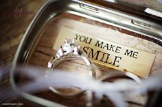You make me smile quotes photography wedding rings country