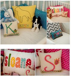 pillows for the babies cribs