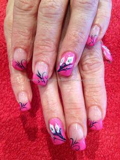 shellac nails | ... nail design one stroke nail designs snowman nail art shellac nail