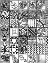 Risultati immagini per zentangle patterns