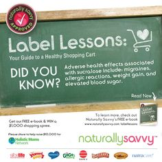 """I'm proud to announce the launch of our second book, """"Label Lessons: Your Guide to a Healthy Shopping Cart."""" It's a FREE e-book and it's our gift to you! Download coupons, raise $10K for Holistic Moms Network & WIN a $1K shopping spree! ~ Andrea"""