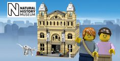 Nice Construction technique and detailing.  LEGO Ideas - The Natural History Museum - Creator Expert