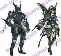 Butterfly Armor by Bnaha.deviantart.com on @DeviantArt