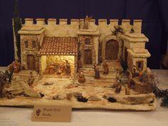 Click to Close Christmas Cave, Christmas Nativity Scene, Christmas Scenes, Christmas Crafts, Christmas Decorations, Fontanini Nativity, Victorian Farmhouse, Pooja Rooms, Ceramic Houses
