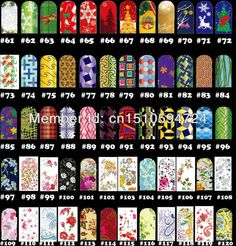 Wholesale T2 174 Styles FREE SHIPPING 20sheets Nail art water transfer decal sticker series ,Nail Accessories, Free shipping, $1.1/Piece | DHgate Mobile