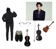 """""""Practicing-Drew"""" by gonzalessiblings ❤ liked on Polyvore featuring Linda Farrow, Vans, men's fashion and menswear"""