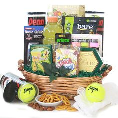 Tennis baskets are a smash hit - $72.95