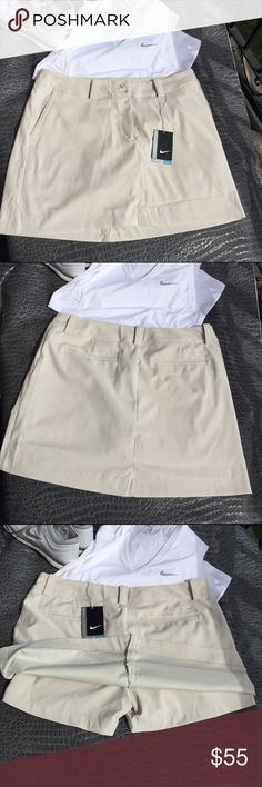NWT NIKE - Modern rise GOLF skirt PRICE IS FIRM.   Bundle & save !                                                ALL CLOTHING is either NWT, RETAIL or PRE-LOVED that has been worn a few times &  cleaned properly.💕  💰Too expensive , gonna break da bank ? Then add me to a 🛍 b u n d l e 🛍 or use the offer button.   REASONABLE offers accepted . I QUICKLY DECLINE OFFERS that are 40% below asking price .    🚫 🙅🏻 N O T R A D E S 🙅🏻 🚫 Nike Skirts