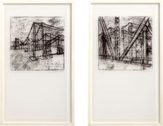 bridge architecture and landscape prints set of 2 (if the budget allows) :)