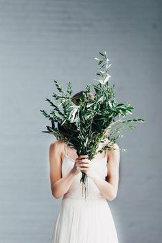 A feminine & minimal Brooklyn bridal shoot #lovewins (same-sex wedding, lgbt wedding inspiration)