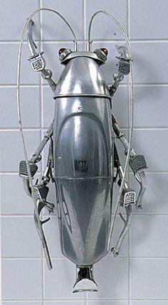 Animal Sculptures Made Of Scrap Metal | thepirata.com