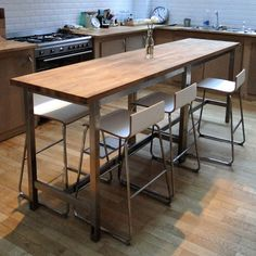 I like this table as desk/dining table hybrid