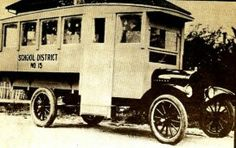 One of the first edmonds school buses