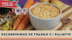 Escondidinho de Frango com Palmito - Receitas de Minuto #143 (+playlist)