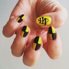 25 Ultra Geeky Nail Art Ideas Nails Pinterest Harry Potter
