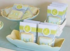 Cute baby shower packaging by etta