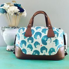 Tutorial: Brooklyn Handbag - Swoon Sewing Patterns                                                                                                                                                      Más