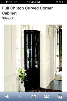 Corner cabinet - ballards