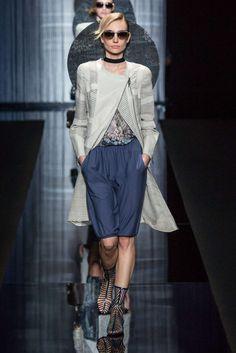 Giorgio Armani, Printemps/Eté 2017, Milan, Womenswear