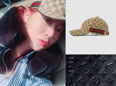 * Soyou *  Baseball Hat: https://www.gucci.com/uk/en_gb/pr/men/mens-accessories/mens-hats-gloves/mens-baseball-caps/original-gg-canvas-baseball-hat-with-web-p-200035FFKPG9791?position=32&listName=ProductGridComponent&categoryPath=Women/Womens-Accessories/Womens-Hats-Gloves