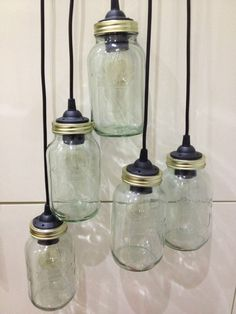 Kilner Glass Jar Pendant Lights Vintage Retro Unique