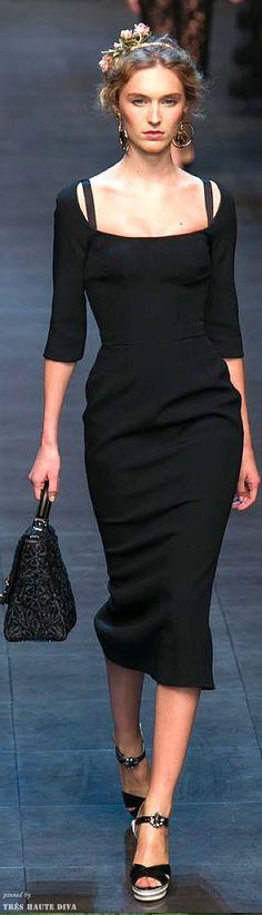 Dolce & Gabbana, Spring 2014.