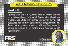 #FRS #Wellness Wednesday #Nutrition Tip Week 18