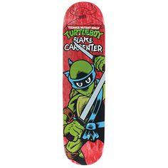 "Toy Machine Carpenter Ninja Turtle Boy Skateboard Deck - 7.75"""