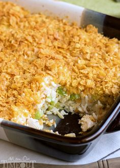 Use store-bought rotisserie chicken for the easiest casserole ever. Get the recipe from Mom on Time Out.   - Delish.com