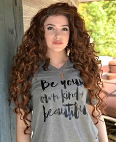 Be Your Own Kind Of Beautiful Inspirational by AllGoodThreads