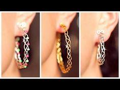 3 EASY braided earrings! | Earrings DIY | SIMPLE DIY - YouTube